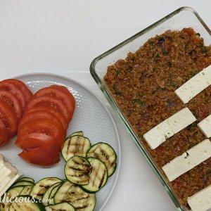 Courgette-rijstschotel uit de oven
