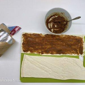 voorbereiding Easy cinnamon buns (kaneelbroodjes)