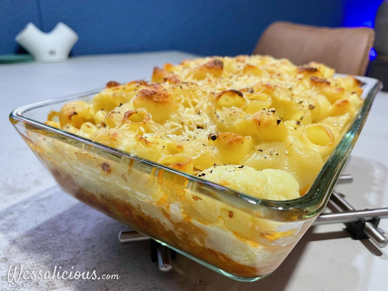 Mac & Cheese met bloemkool