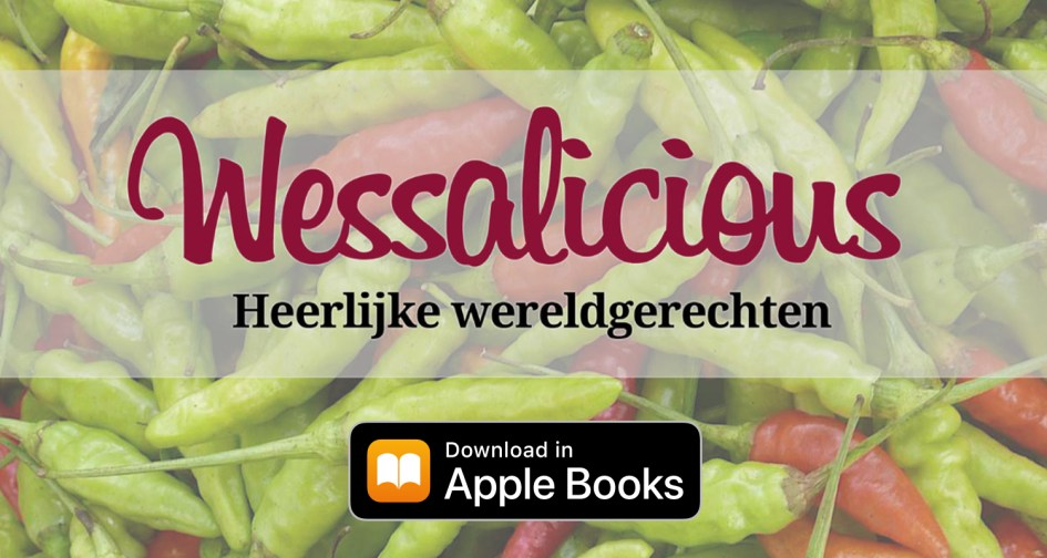 Kookboek van Wesley Fabry: Wessalicious, heerlijke wereldgerechten