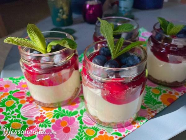 Yoghurt-toetje met vlaaifruit