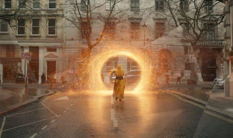 Mithilfe von Portalen gelangen die Magier an jeden beliebigen Ort der Welt
