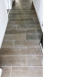 Grout Haze Removed from Wood Effect Porcelain floor tiles ...