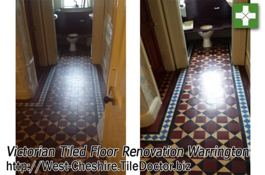 Renovating Dull and Dirty Victorian Tiles in Warrington