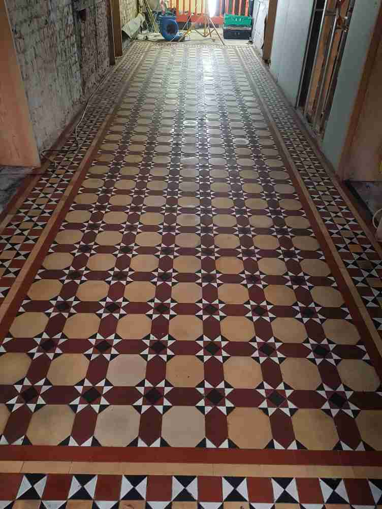 Victorian Floor After Installaton Aston Park House Great Budworth Northwich