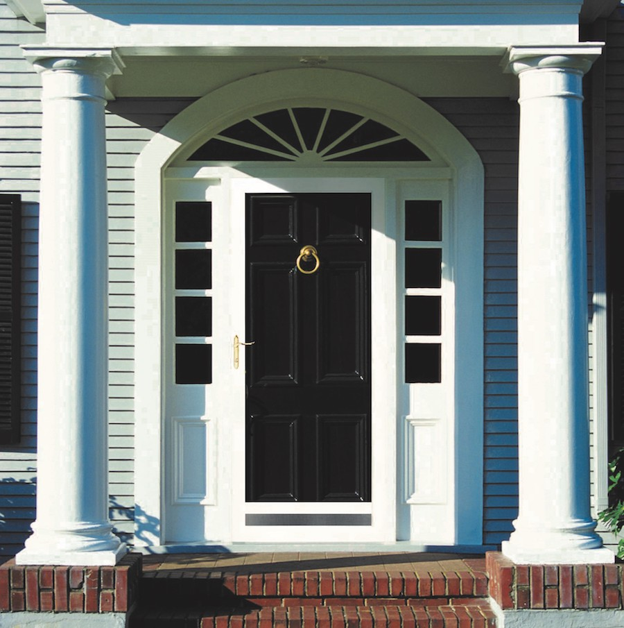 Beautiful and secure, a new entry door from West Hartford Windows