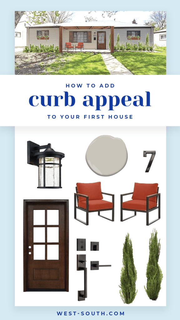 How to Add Curb Appeal to your First House