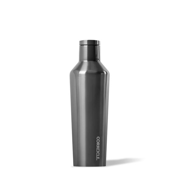 image of gunmetal corkcicle water bottle canteen