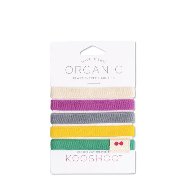 image of colorful hair ties from kooshoo