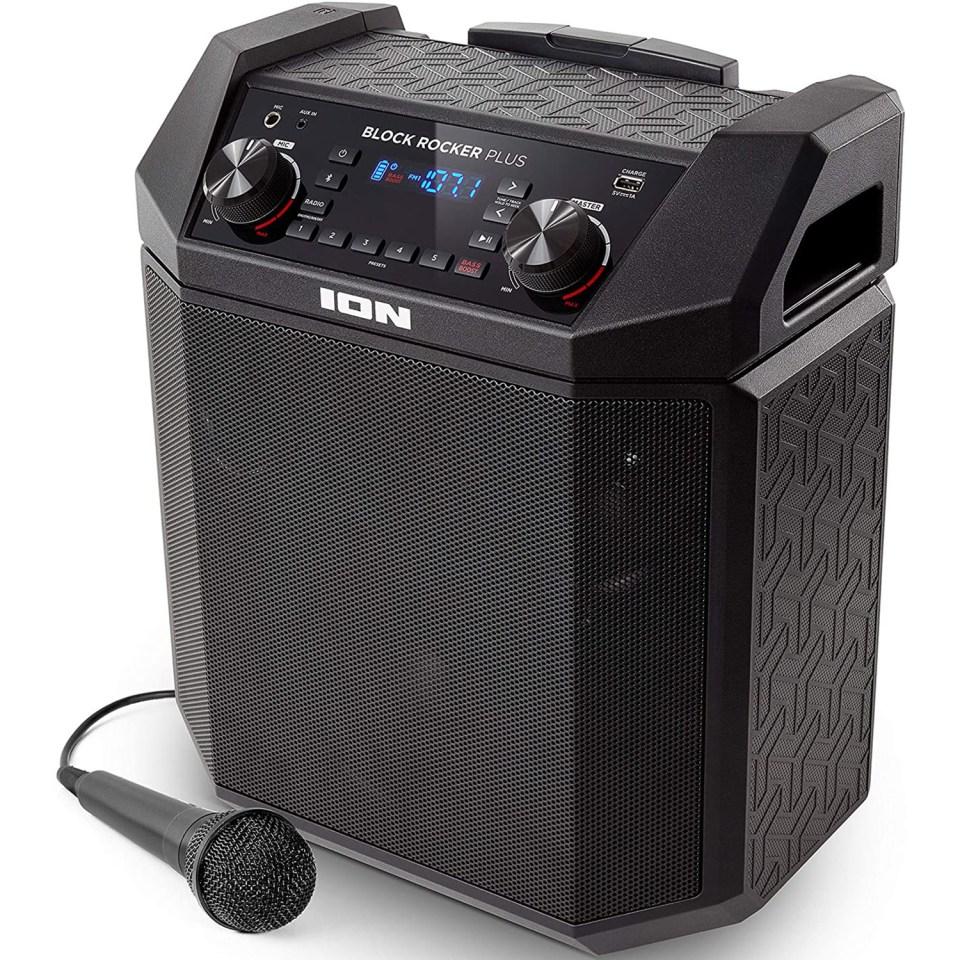 ION Audio Studio Block Rocker Plus Bluetooth Speaker