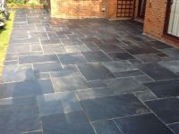 Slate Patio Paving Restored | Tile Cleaners | Tile Cleaning