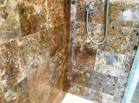 Marble Shower Wall Leatherhead After Cleaning
