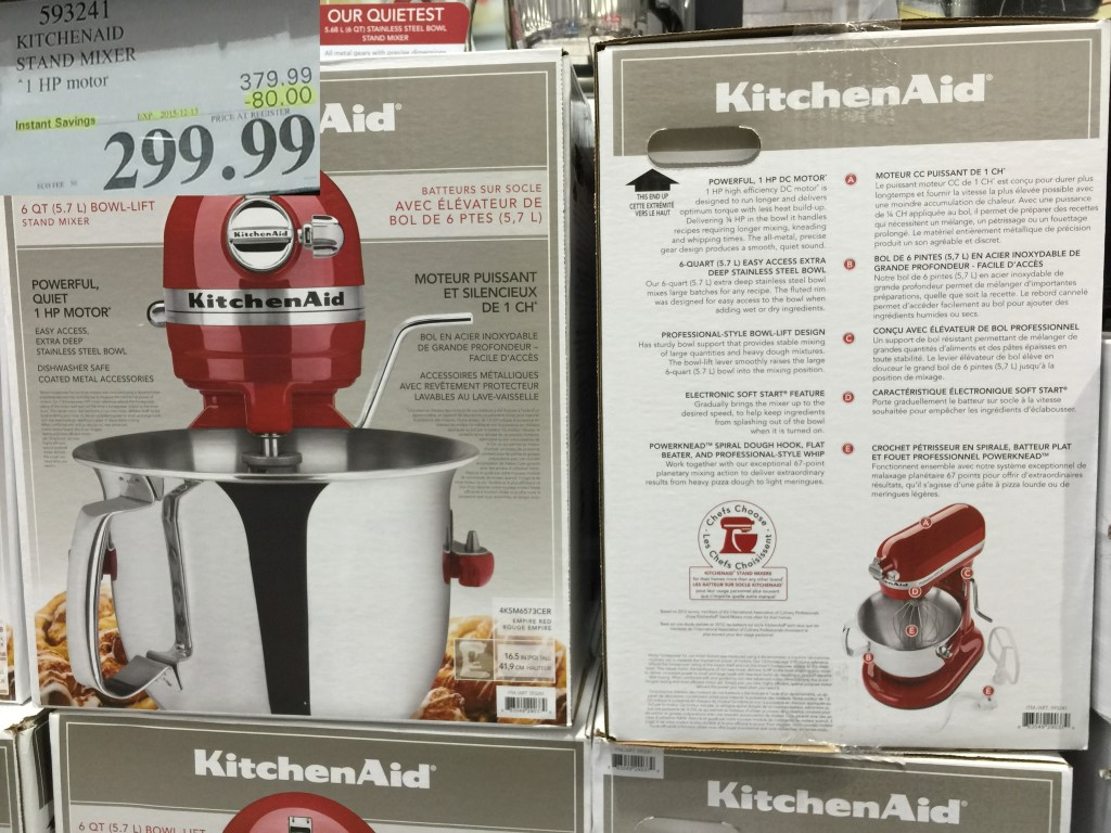 costco kitchen aid discount granite countertops west sales items december 7 13 fan blog