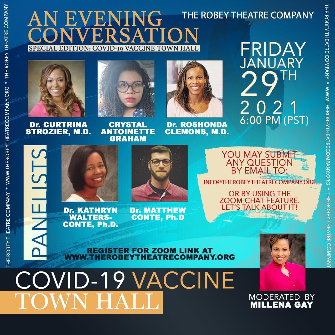 covid-19 vaccine town hall meeting LA