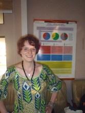 Nina Paarmann bei der Vorstellung ihrer Forschungsergebnisse im März 2016.