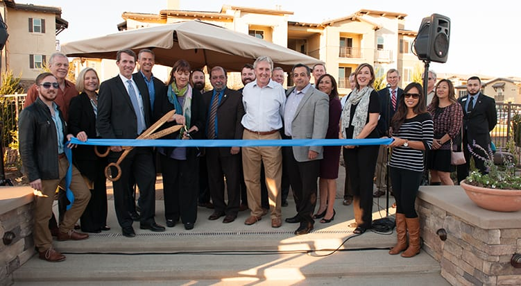 Hollister Village Grand Opening / Ribbon Cutting a big success