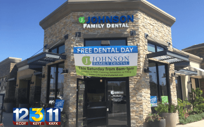 Johnson Family Dental donates services for 97 patients
