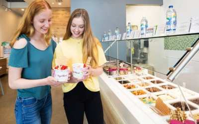 Yogurtland Joins Growing List of Businesses at Sendero Marketplace