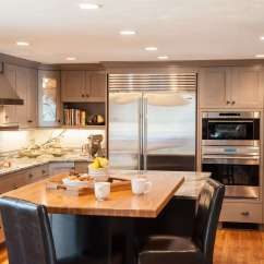 Custom Kitchen Islands Pull Out Shelves Design Tips And Ideas Westborough Center Who Says The Is A Just Place To Cook Food Eat In Well Certainly Not This House Today S Kitchens Are Designed Meet So Many
