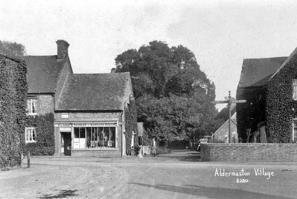 Aldermaston village date unknown