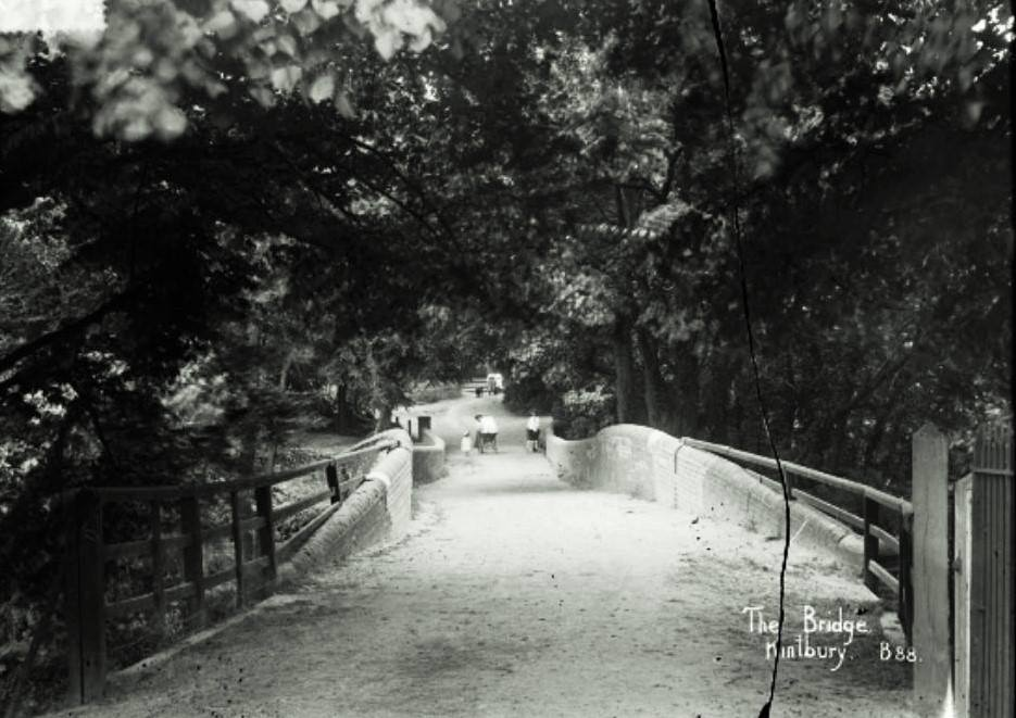 bridge from the church over the K&A