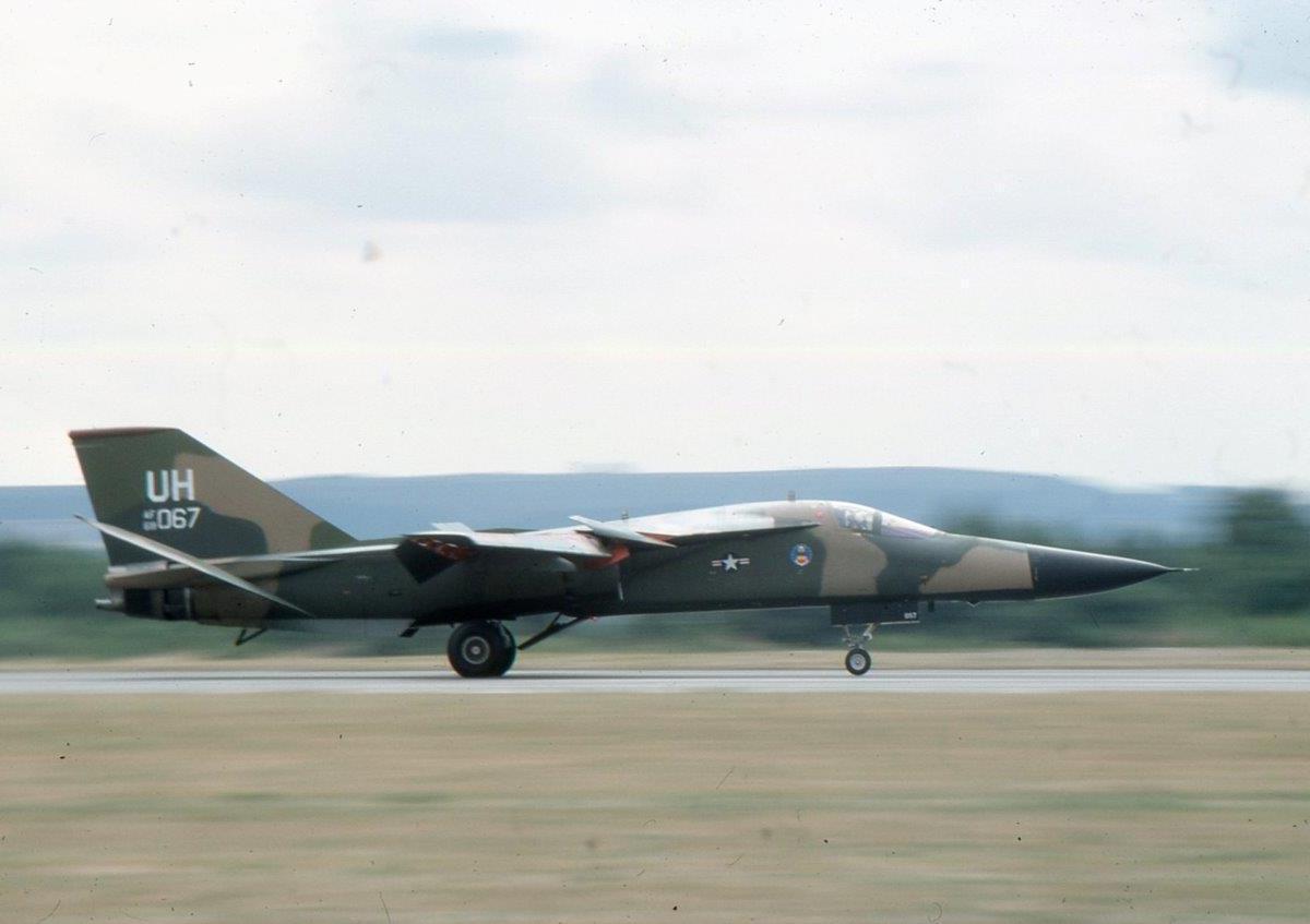 F-111E at GC 1976