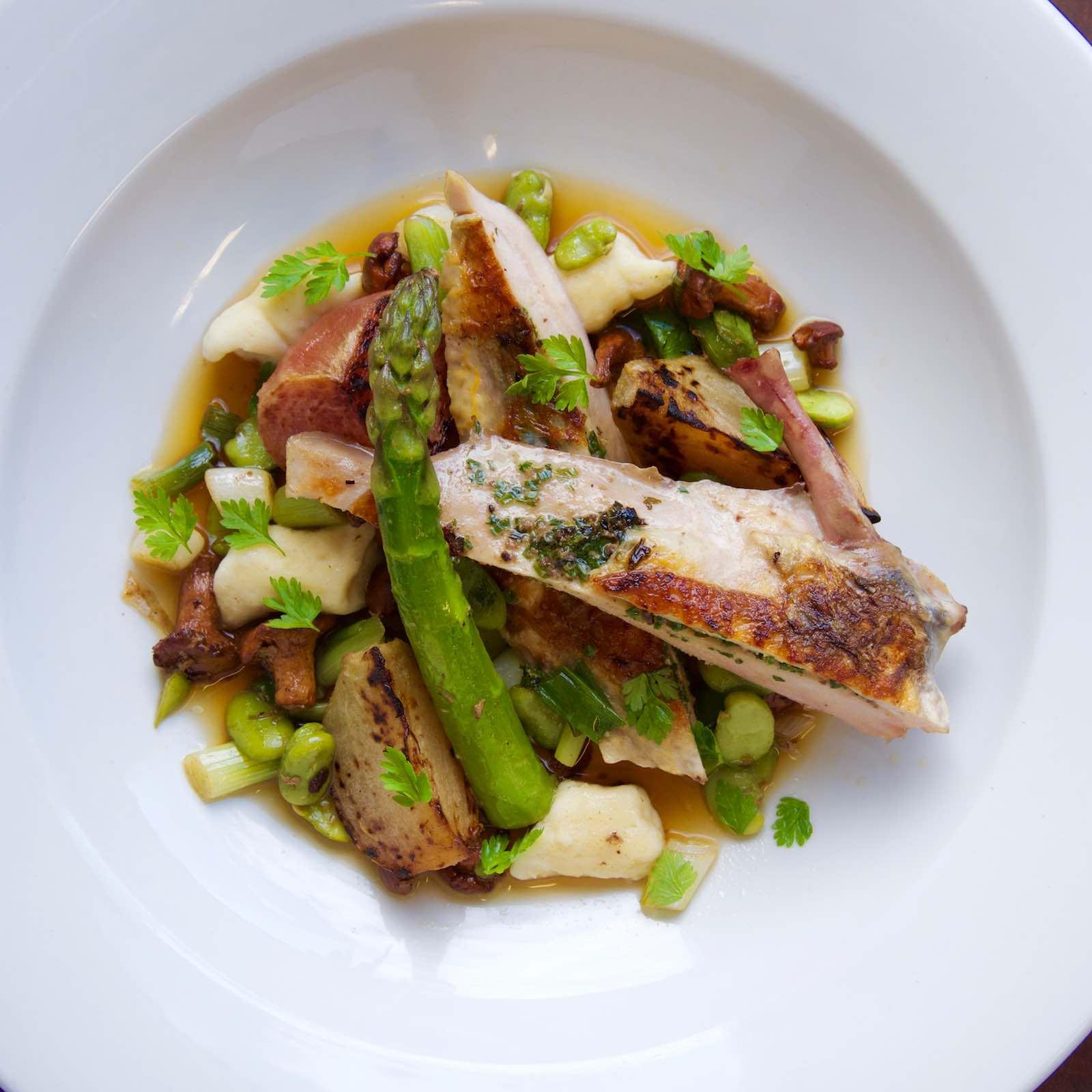 Guinea-fowl-supreme-spring-vegetables-truffle-choux-gnocchi-and-consommé-web-page