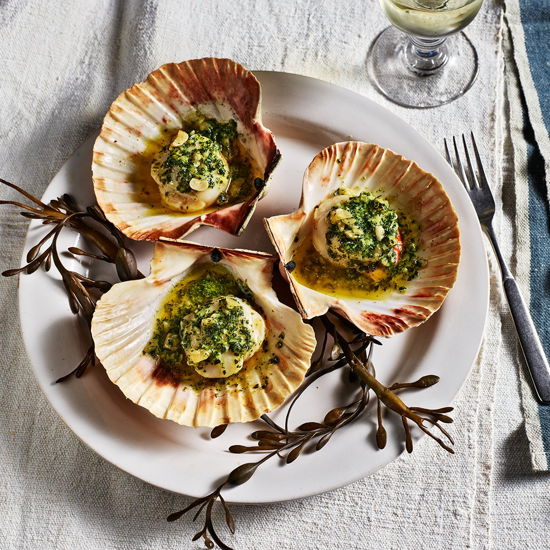 Scallops-with-hazelnut-and-coriander-butter