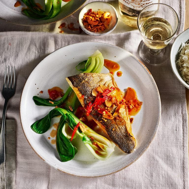 Sea-bass-with-hot-sour-and-sweet-sauce