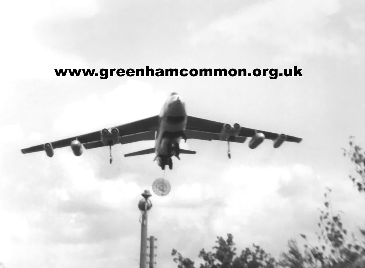 B-47 on approach Twitter