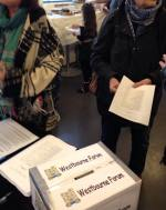 Ballot box and ballot papers