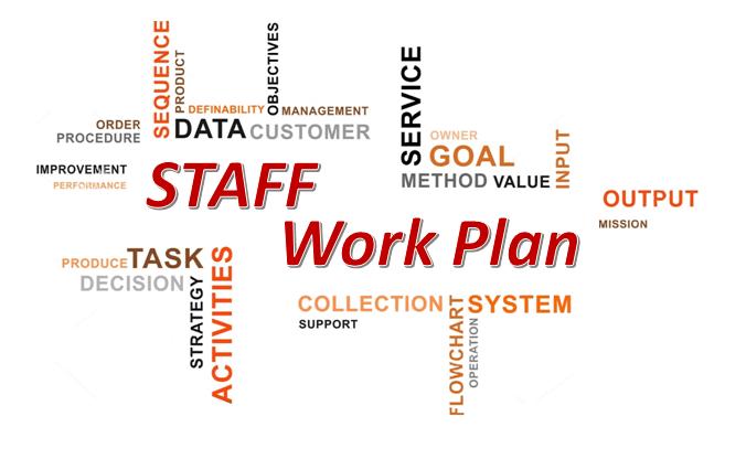 Staff Work Plan – West Branch, IA