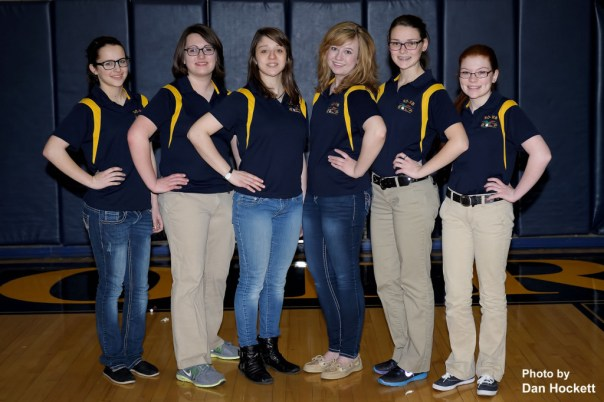 Photo by Dan Hockett Kinnedi Springsteen, Meredith Reach, Alix Moad, Kristyn Vedder, Kayla Lowary, Megan Riley.