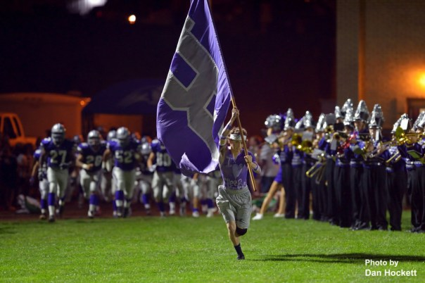 Flagman leads BHS team on to field