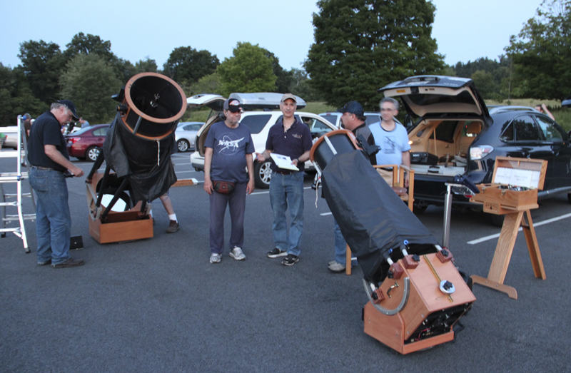 Doesn't matter! Amateur astronomers club sorry