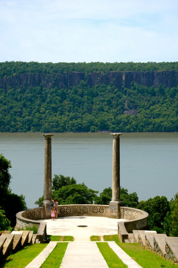 Untermyer gardens in Westchester overlook the Hudson River and are simply exquisite.