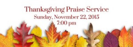 Thanksgiving Praise Service (1)