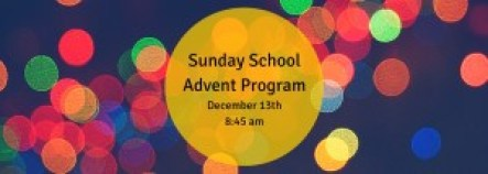 Sunday SchoolAdvent Program