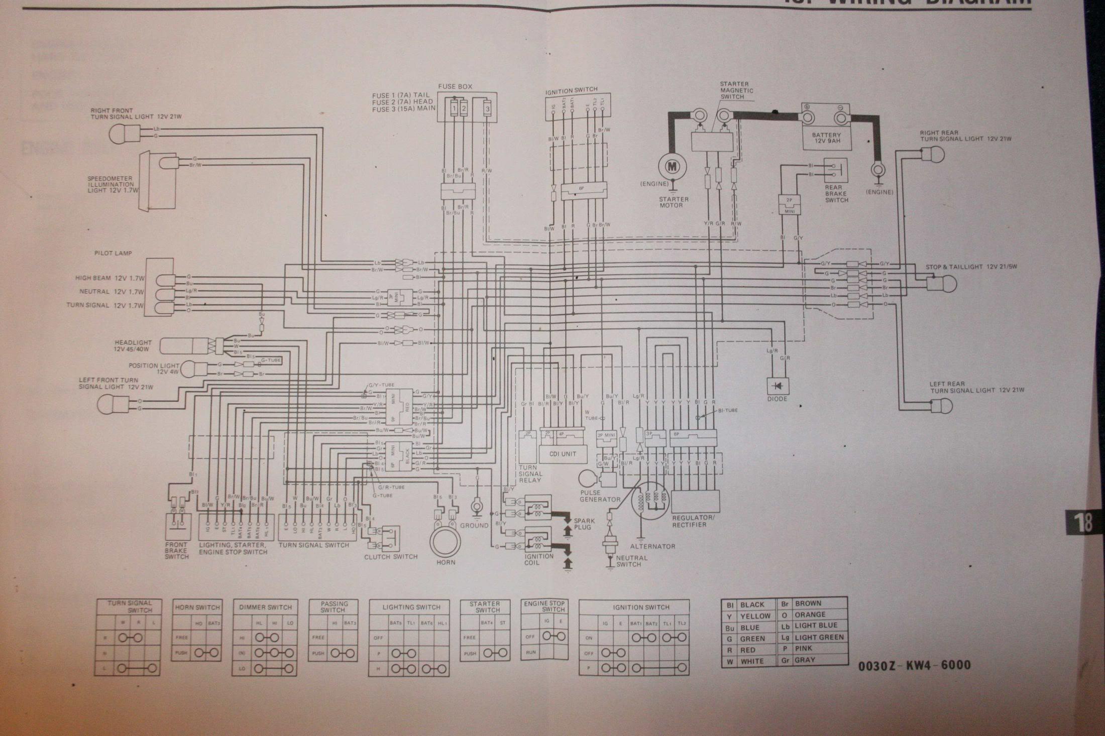 Wiring Diagram Honda Lead