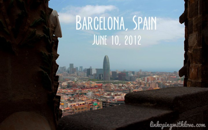 barcelona from tower