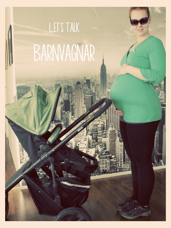 barnvagnar = strollers, *not* a place you feel like you need to live when 8 months pregnant...