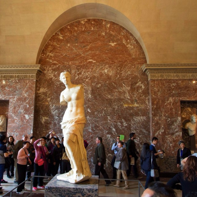 Aphrodite, Louvre, Paris, France