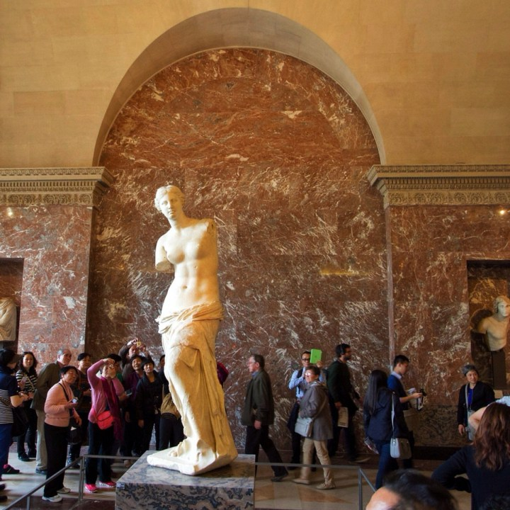 Aphrodite, Louvre, Paris, France