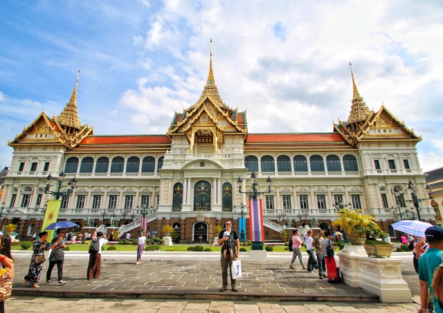 Bangkok Tourists Grand Palace