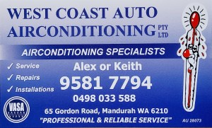 West Coast Auto Airconditioning & Electrical