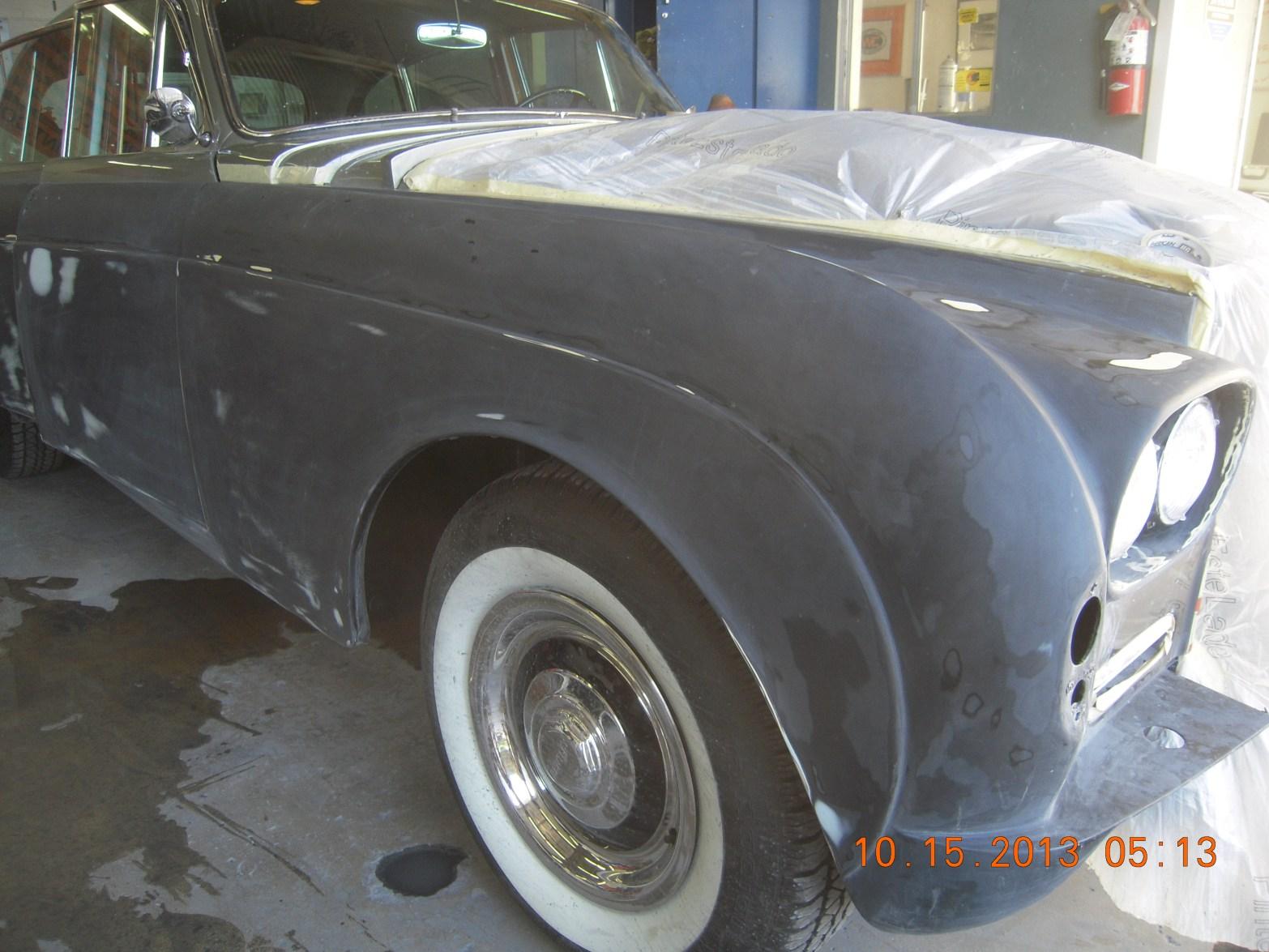 1953 Bentley Exotic Car Restoration West Coast Body And