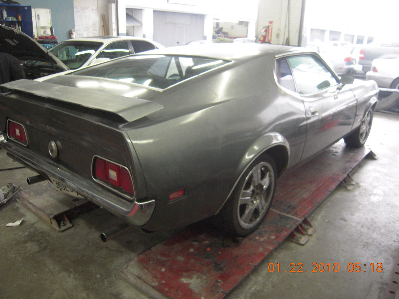 west-coast-body-and-paint-1971-mustang-mach-1-gray-4
