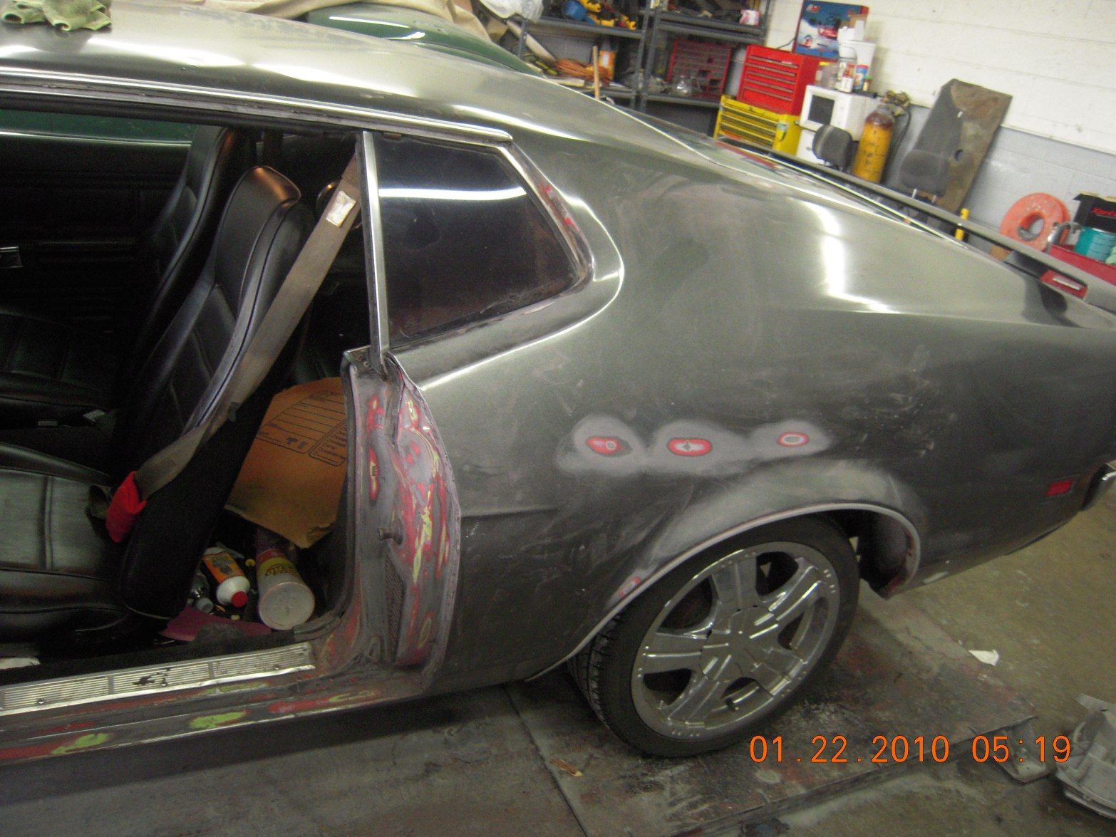 west-coast-body-and-paint-1971-mustang-mach-1-gray-7