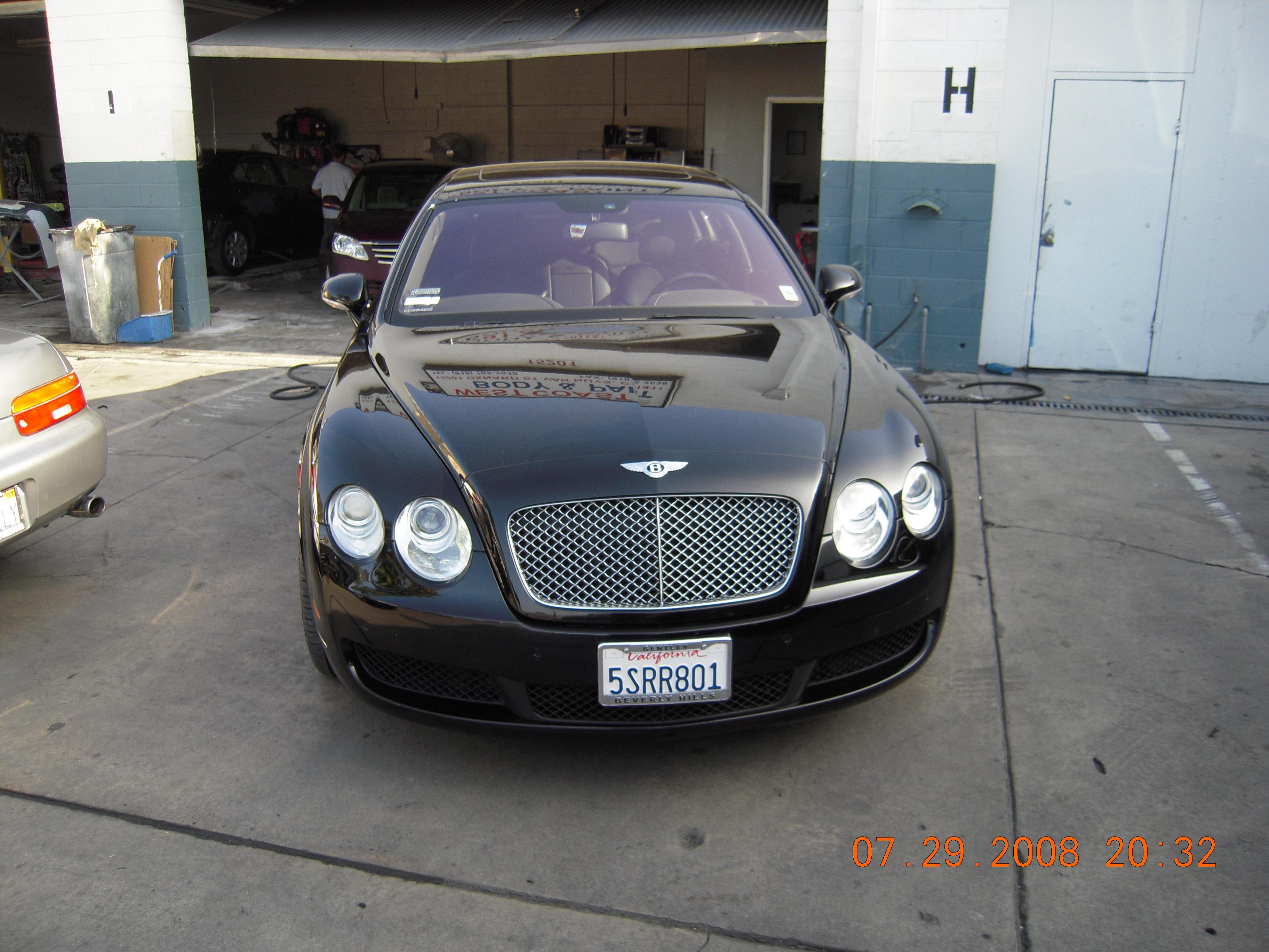 West-Coast-Body-And-Paint-Black-Bentley (5)