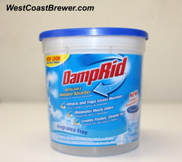 Use DampRid to remove moisture from your fermentation freezer or keezer